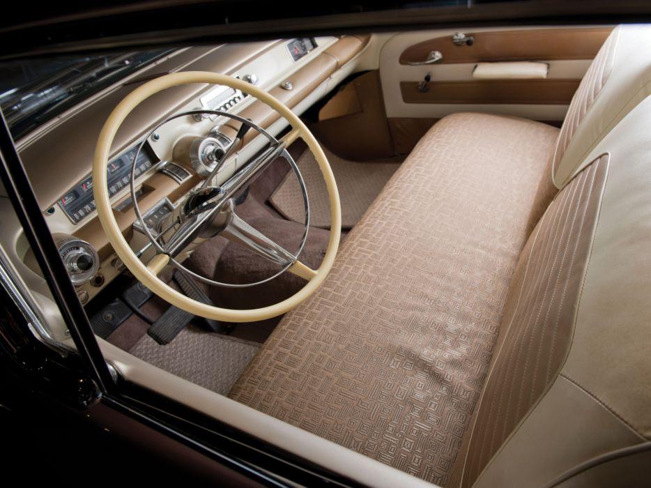 1958 Buick Special Riviera Hardtop Coupe (46R) retro interior     h wallpaper