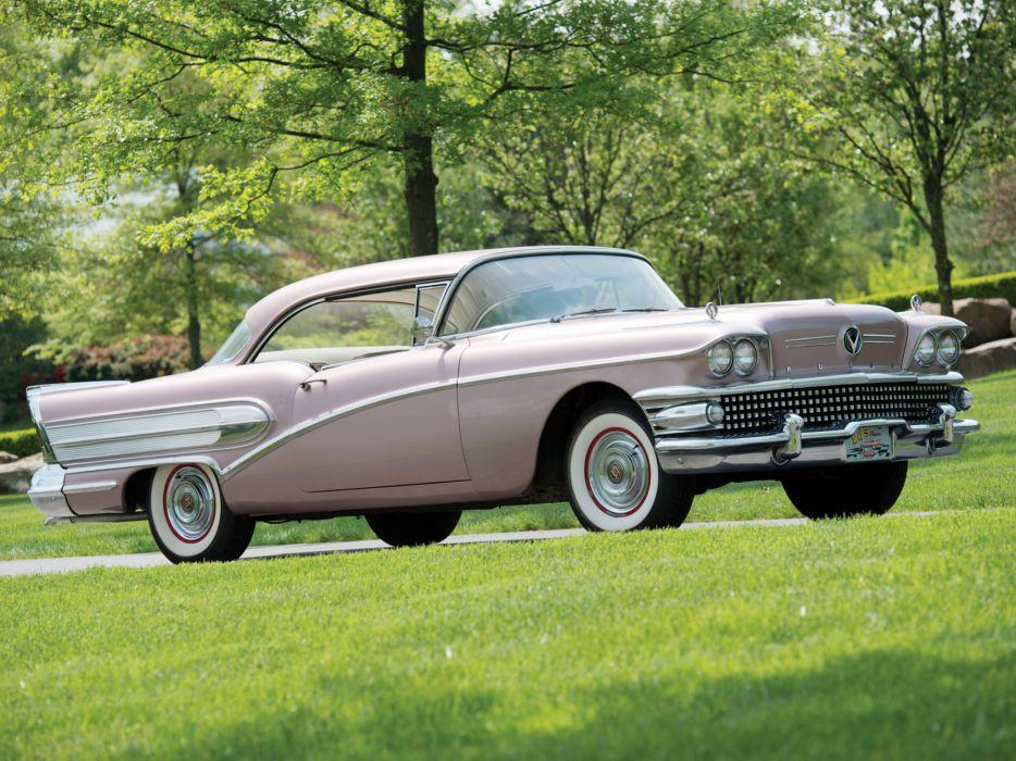 1958 Buick Special Riviera Hardtop Coupe (46R) retro wallpaper