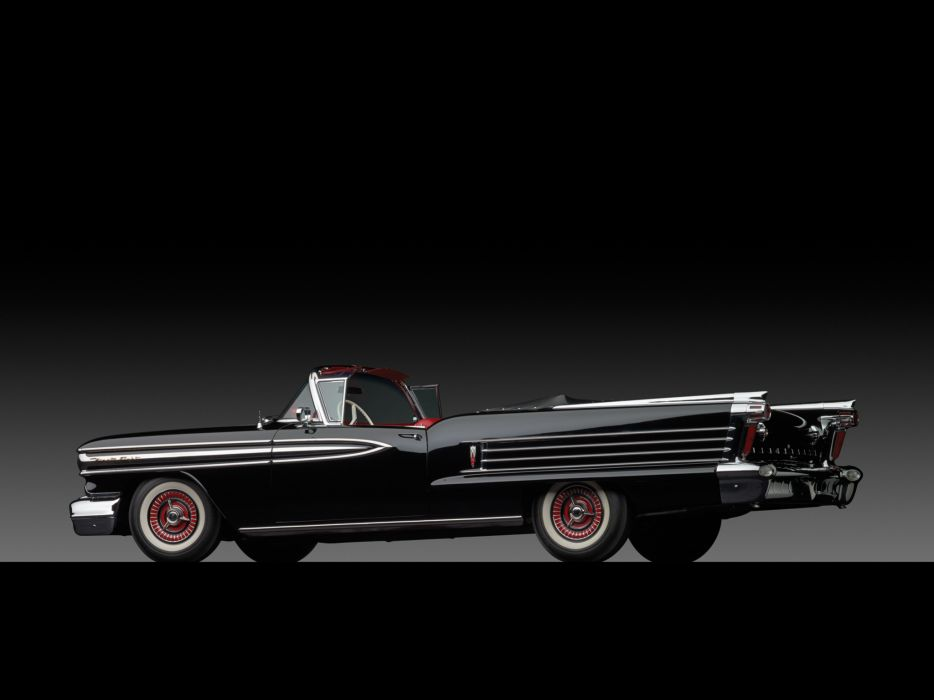 1958 Oldsmobile 98 Convertible (3067DX) retro 9-8  g wallpaper