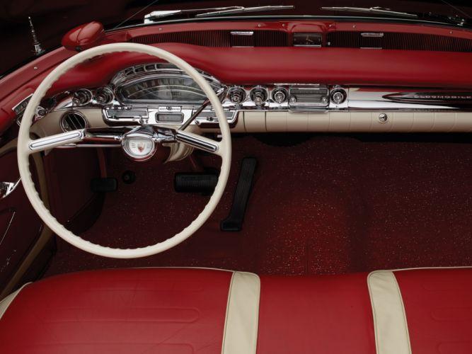 1958 Oldsmobile 98 Convertible (3067DX) retro 9-8 interior g wallpaper
