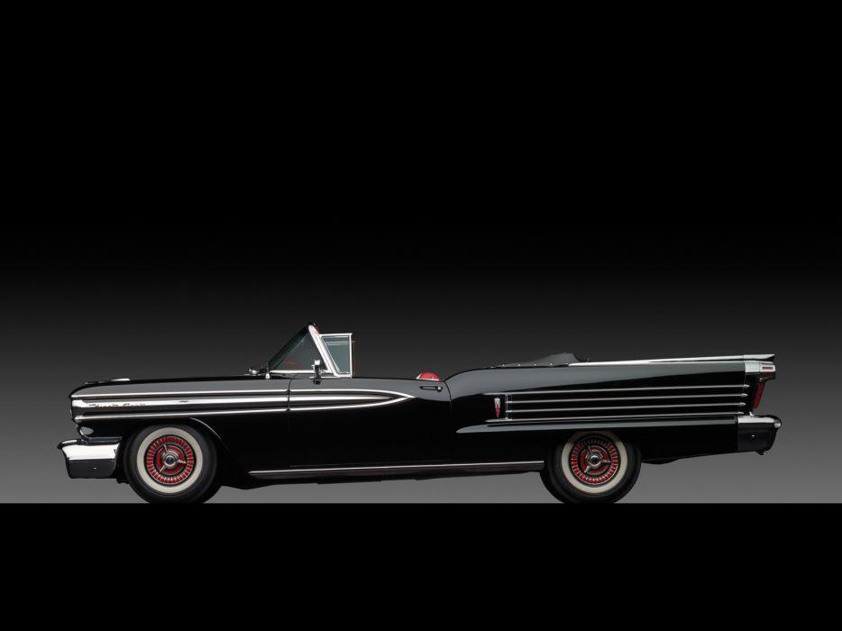 1958 Oldsmobile 98 Convertible (3067DX) retro 9-8  g wallpaper