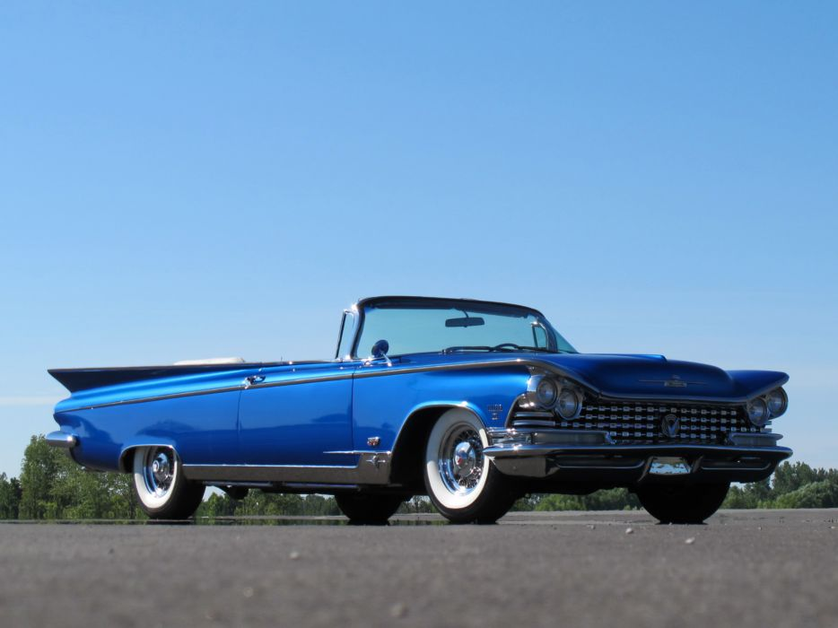1959 Buick Electra 225 Convertible (4867) retro luxury wallpaper