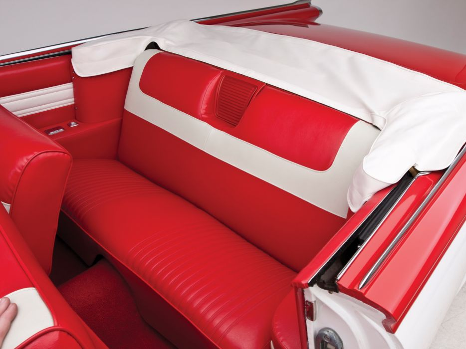 1959 Oldsmobile Dynamic 88 Convertible (3267) retro 8-8 interior      g wallpaper