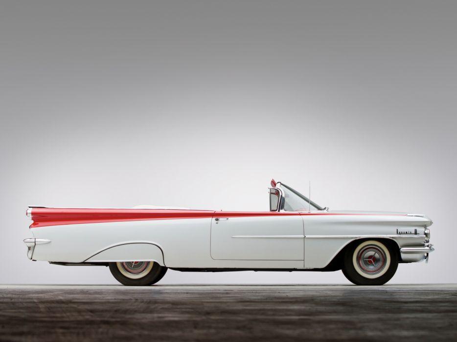 1959 Oldsmobile Dynamic 88 Convertible (3267) retro 8-8   f wallpaper