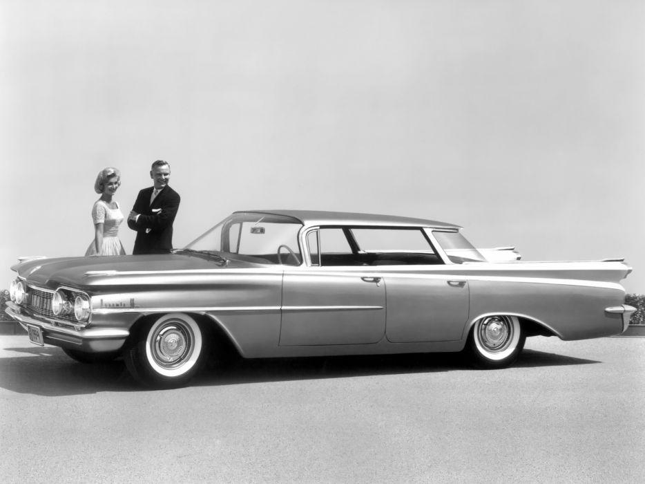 1959 Oldsmobile Dynamic 88 Holiday Sport Sedan (3239) retro 8-8 wallpaper