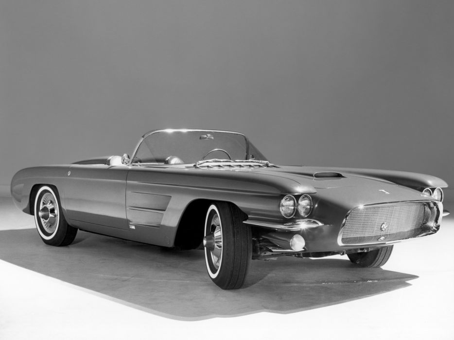1959 Oldsmobile F-88 Mark-III Concept supercar retro wallpaper