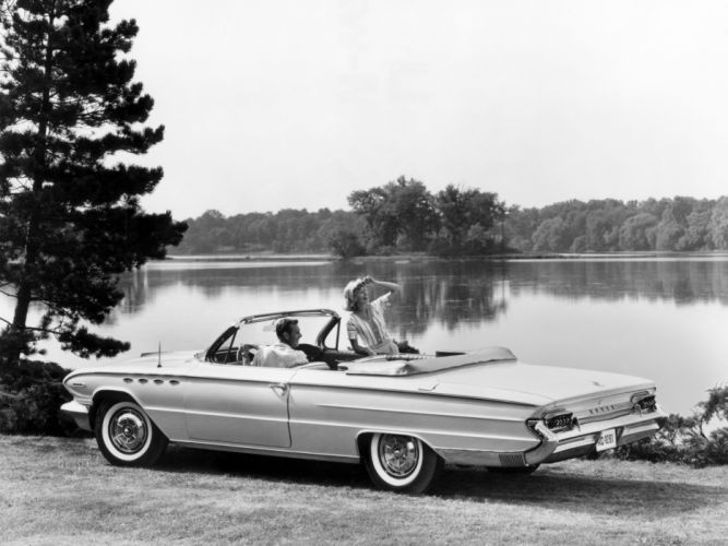 1961 Buick Electra 225 Convertible (4867) classic f wallpaper