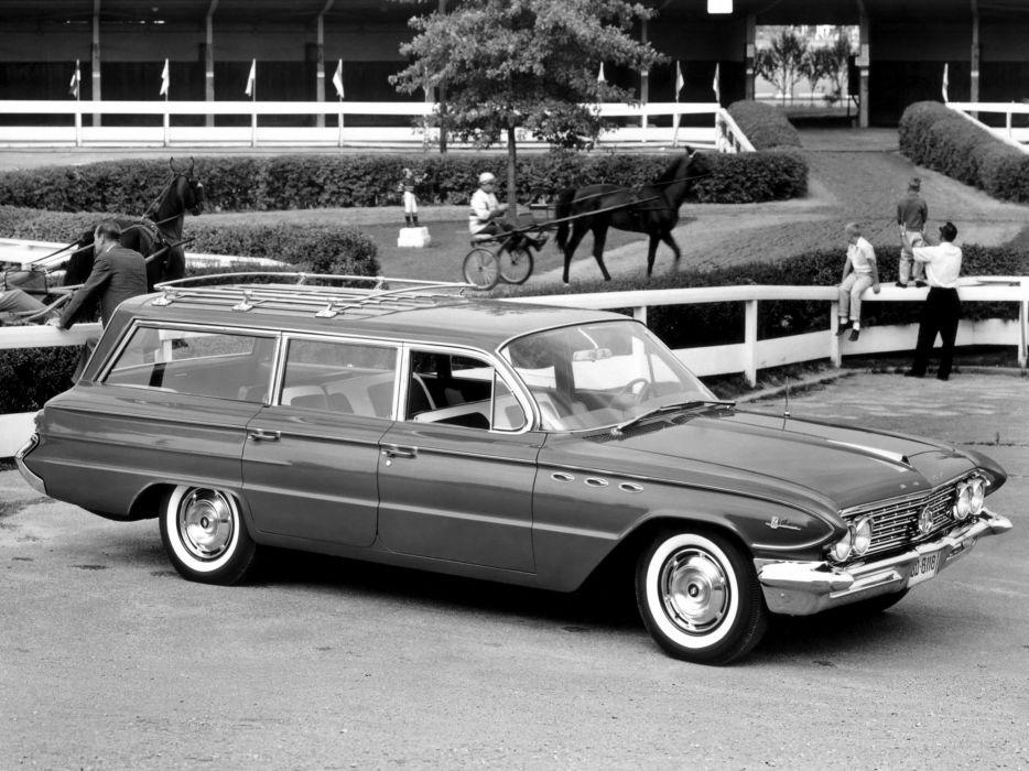 1961 Buick LeSabre Estate StationWagon classic wallpaper