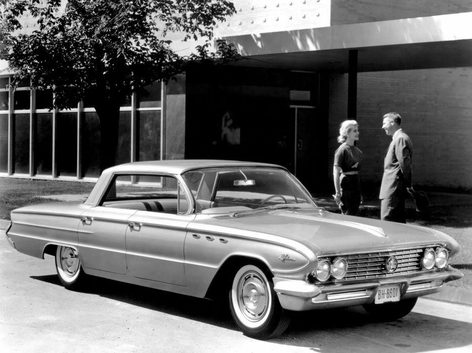 1961 Buick LeSabre Hardtop Sedan (4439) classic      f wallpaper
