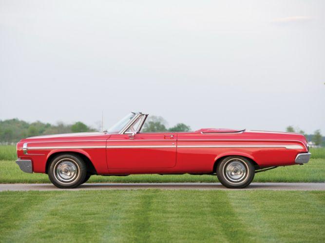 1964 Dodge Polara Convertible (VD2H-635) muscle classic v wallpaper