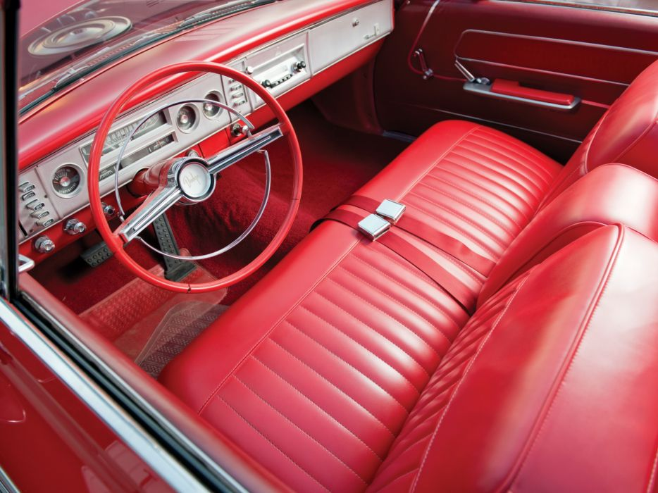 1964 Dodge Polara Convertible (VD2H-635) muscle classic interior     j wallpaper