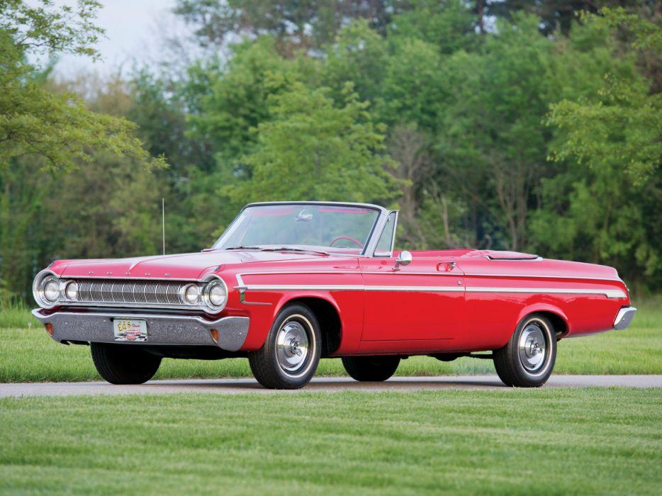 1964 Dodge Polara Convertible (VD2H-635) muscle classic      j wallpaper