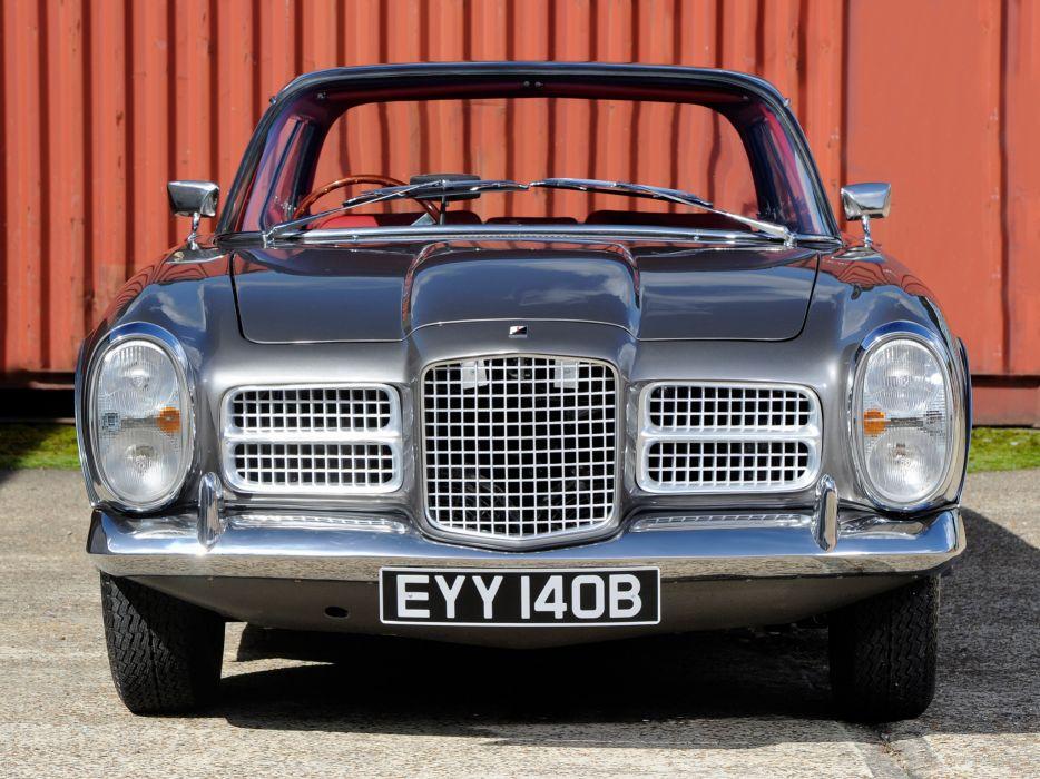1964 Facel Vega Facel-II UK-spec classic supercar    f wallpaper