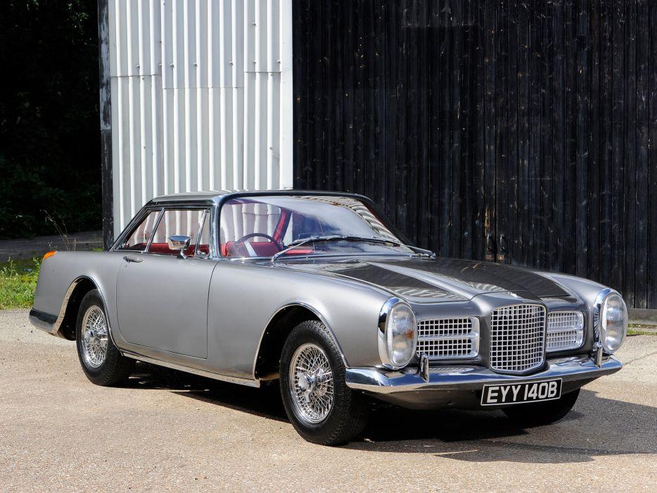 1964 Facel Vega Facel-II UK-spec classic supercar wallpaper