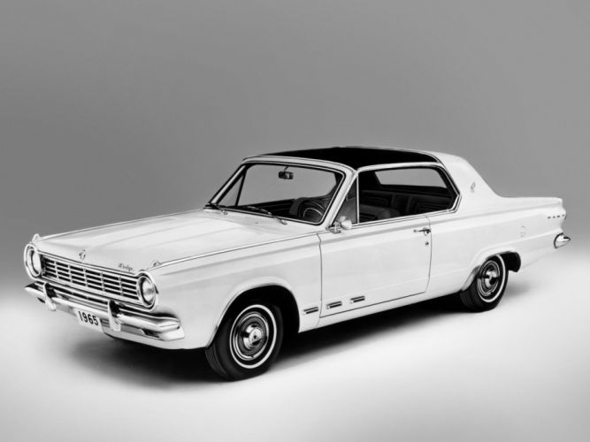 1965 Dodge Dart G-T Hardtop Coupe L42 muscle classic h wallpaper
