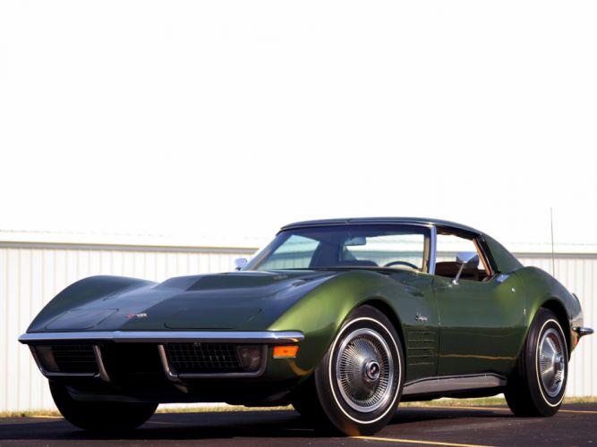 1970 Chevrolet Corvette Stingray 454 (C3) supercar muscle classic t wallpaper