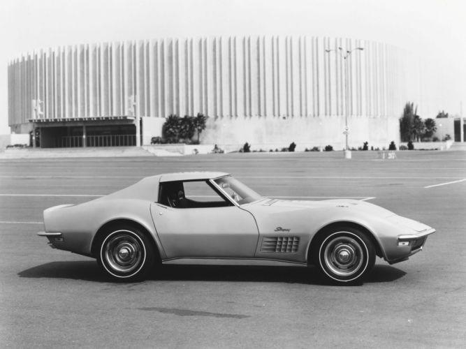 1971 Chevrolet Corvette Stingray 454 (C3) supercar muscle classic r wallpaper