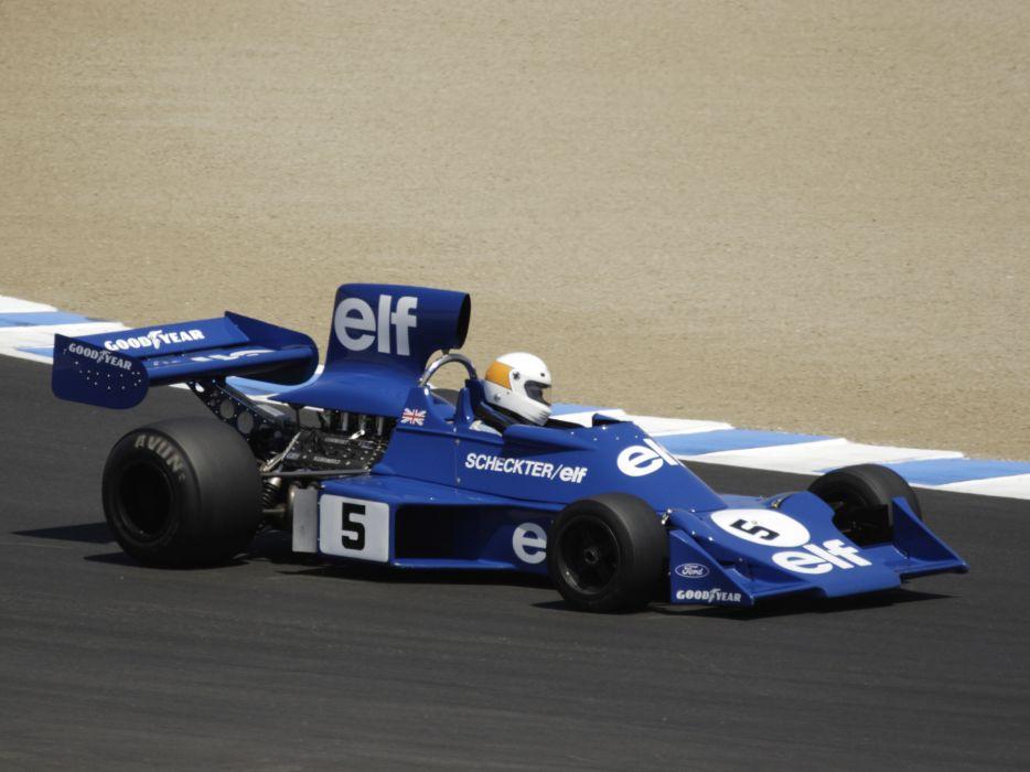 1977 Tyrrell 007 formula f-1 race racing wallpaper