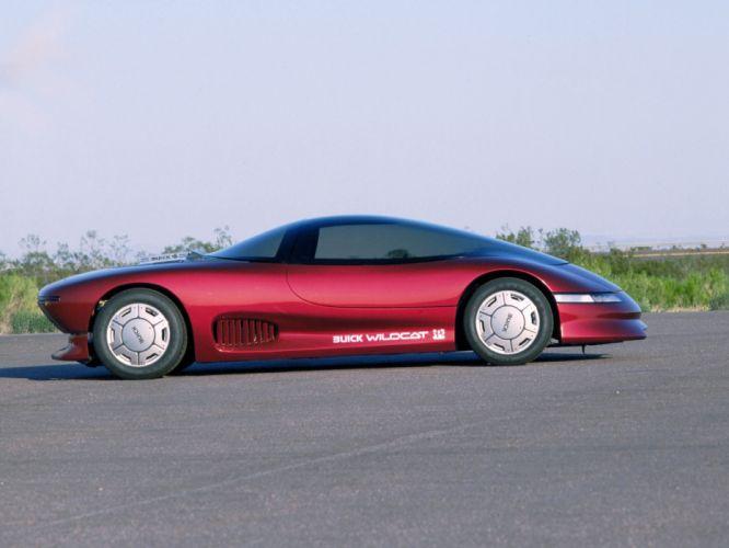 1985 Buick Wildcat Concept supercar wallpaper