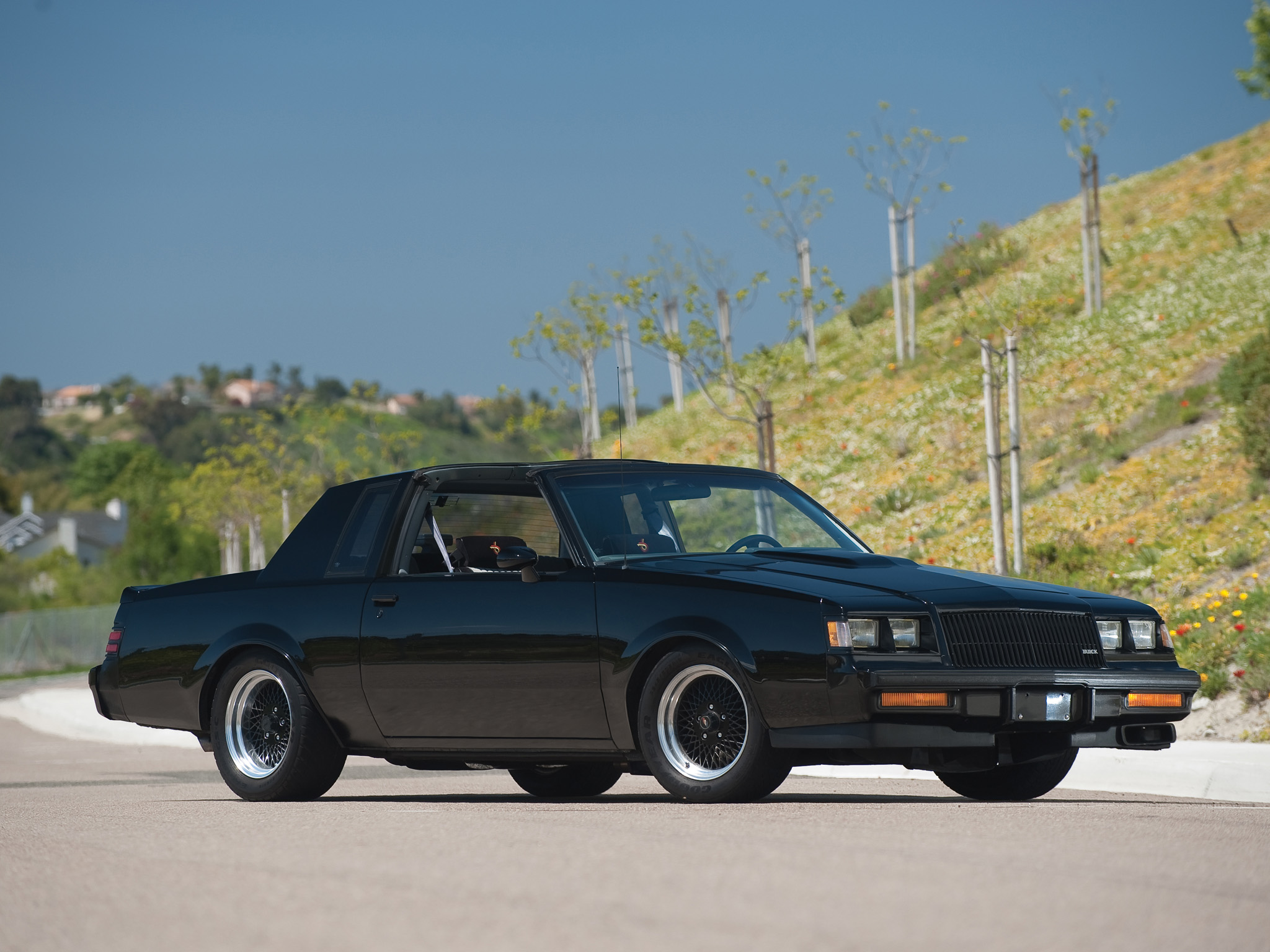 1987 Buick Regal Grand National muscle hh wallpaper ...