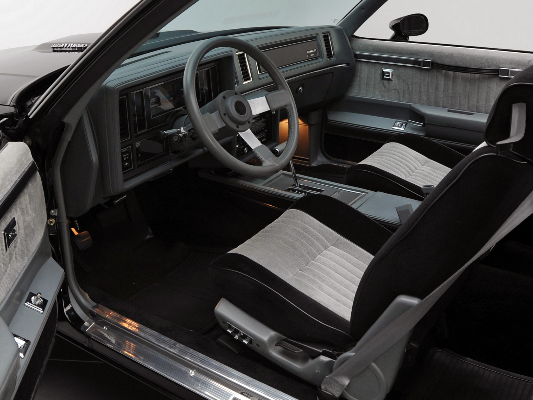 1987 buick regal grand national muscle interior h - 1987 buick grand national interior ...