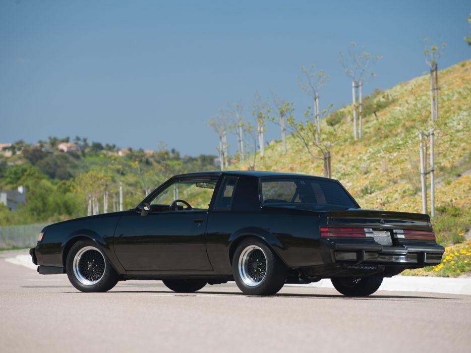 1987 Buick Regal Grand National muscle   h wallpaper