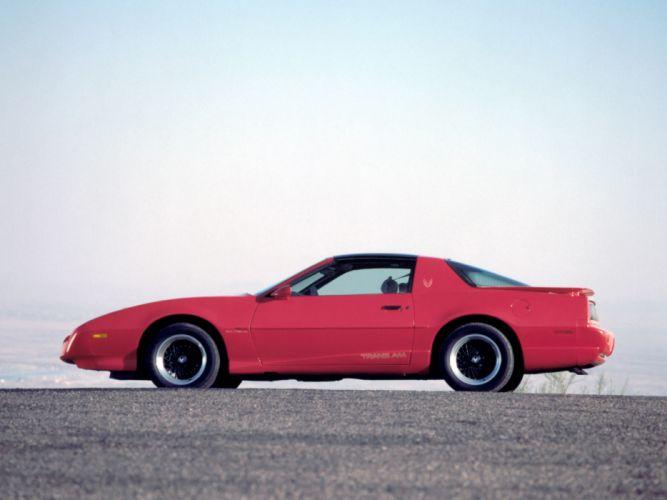 1991 Pontiac Firebird Trans-Am T-Roof muscle trans wallpaper