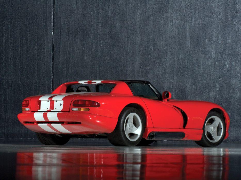 1992 Dodge Viper RT10 Roadster supercar   d wallpaper