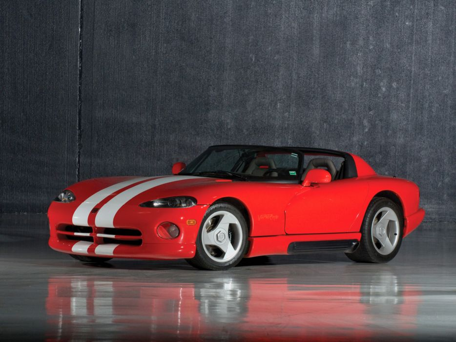 1992 Dodge Viper RT10 Roadster supercar wallpaper