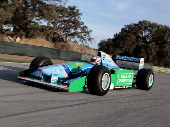 1994 Benetton B194 formula one f-1 race racing jf wallpaper