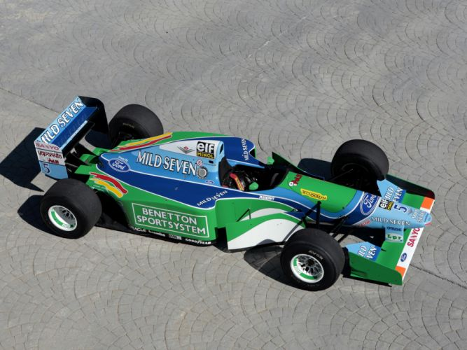 1994 Benetton B194 formula one f-1 race racing t wallpaper