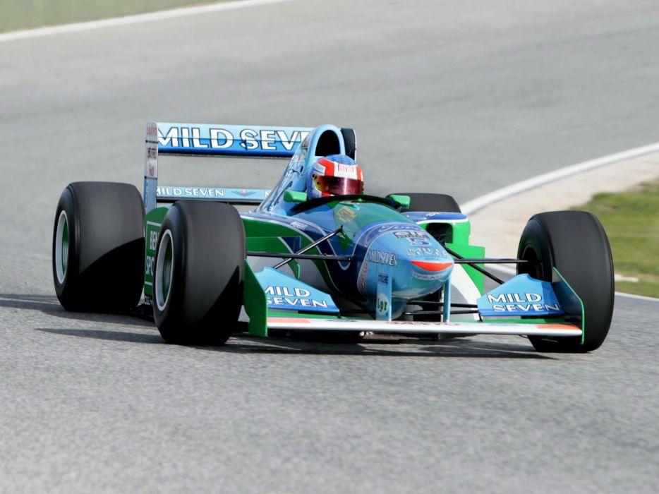 1994 Benetton B194 formula one f-1 race racing   uw wallpaper