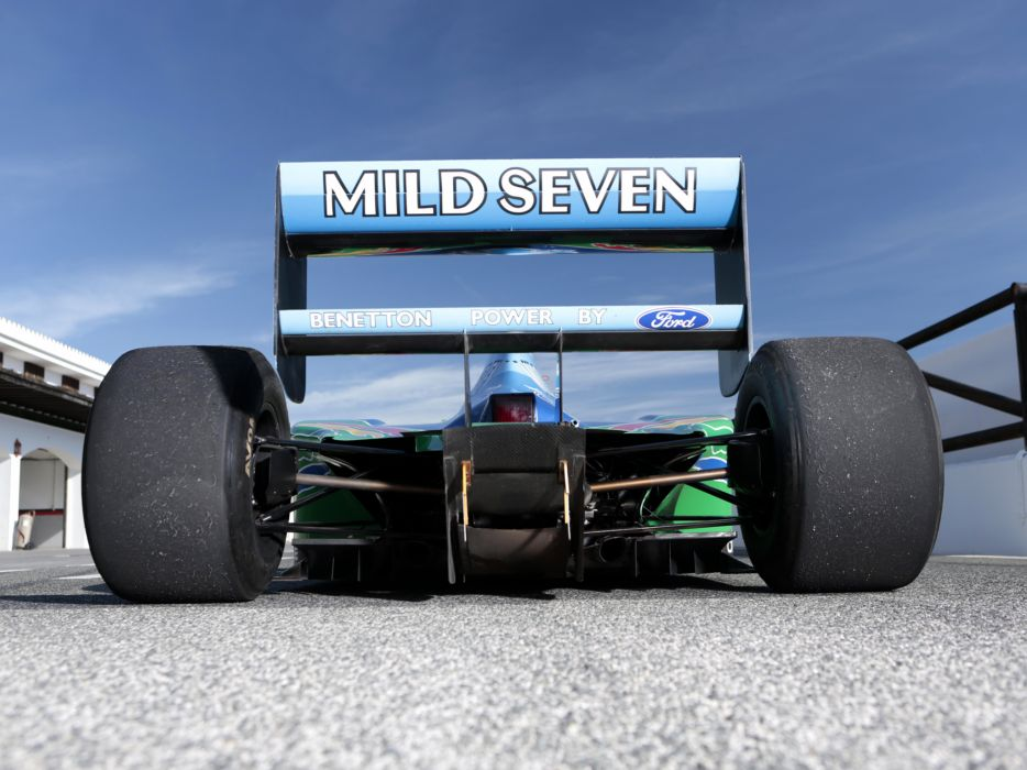1994 Benetton B194 formula one f-1 race racing wheel     j wallpaper