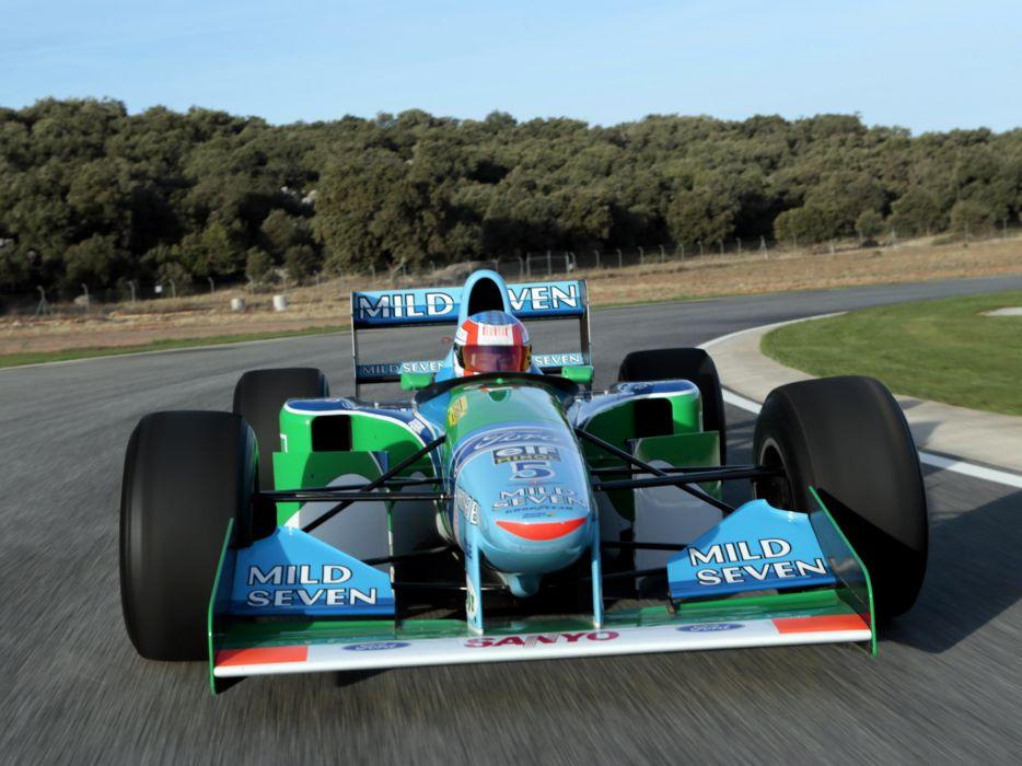 1994 Benetton B194 formula one f-1 race racing  j wallpaper
