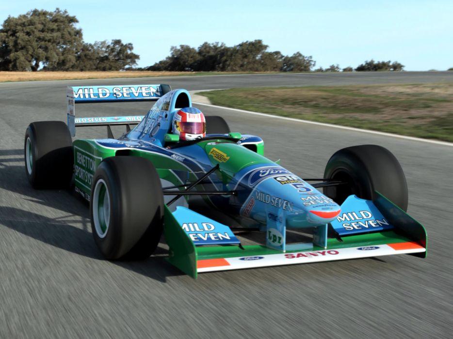 1994 Benetton B194 formula one f-1 race racing  r wallpaper