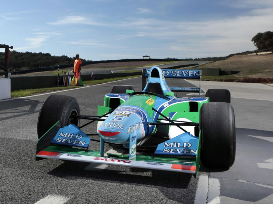 1994 Benetton B194 formula one f-1 race racing  y wallpaper