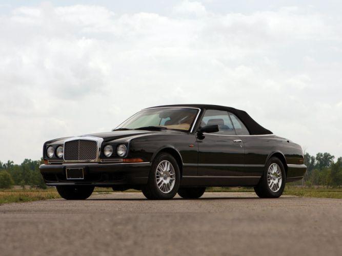 1995 Bentley Azure US-spec luxury convertible d wallpaper