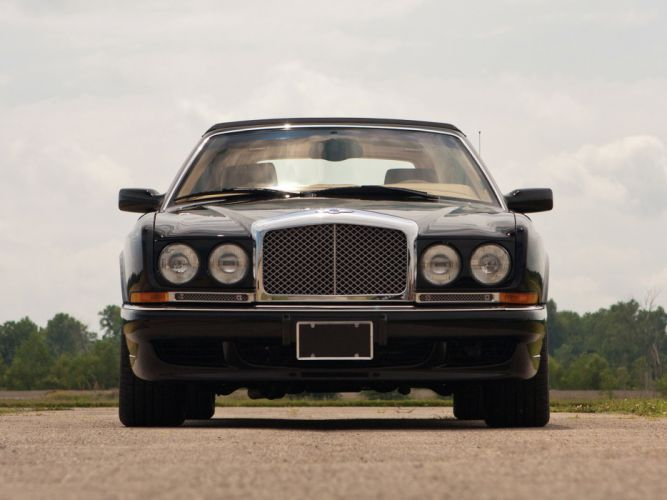 1995 Bentley Azure US-spec luxury convertible f wallpaper