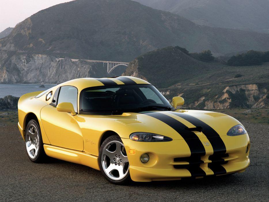 1996 Dodge Viper GTS supercar wallpaper