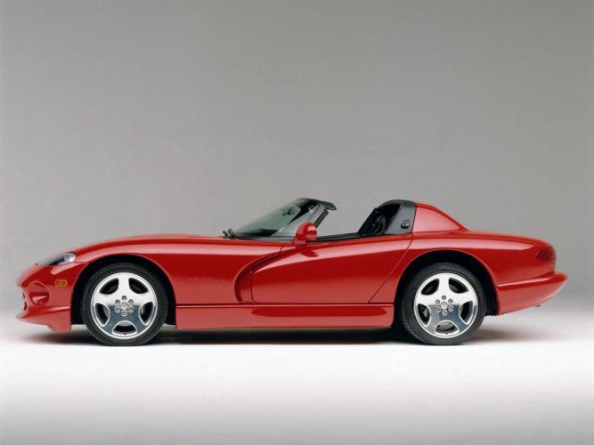 1996 Dodge Viper RT10 Roadster supercar d wallpaper