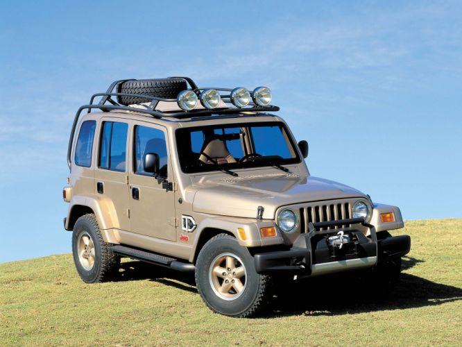 1997 Jeep Dakar Concept suv f wallpaper