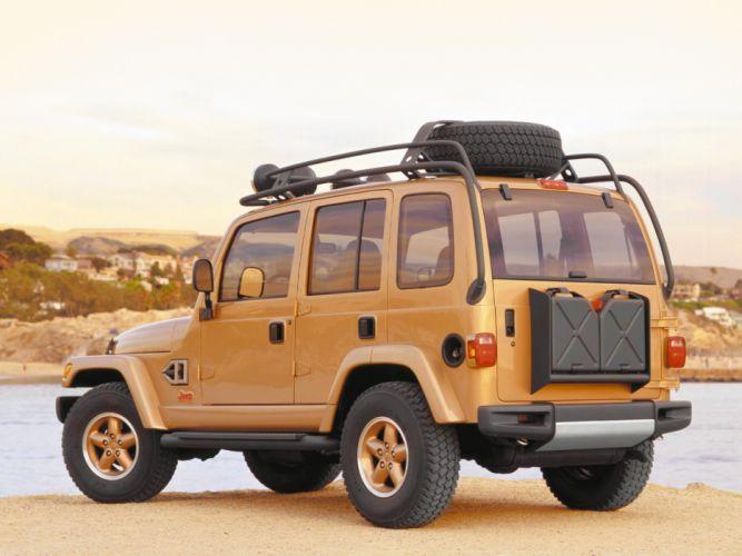 1997 Jeep Dakar Concept suv wallpaper