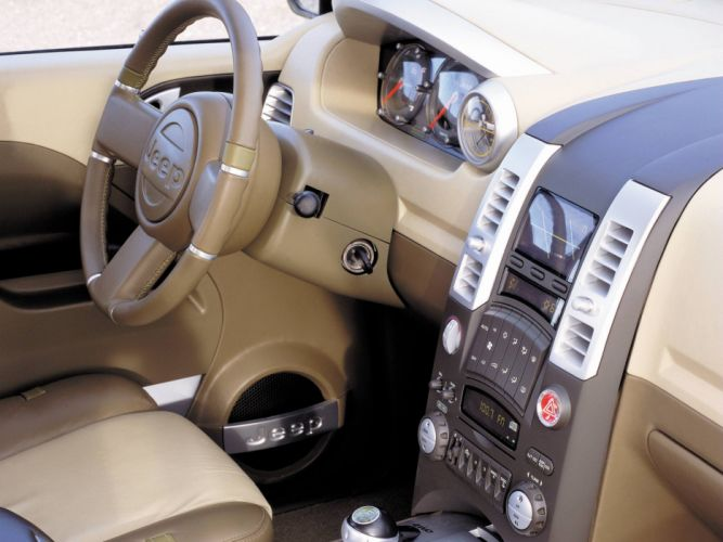 2000 Jeep Varsity Concept interior f wallpaper