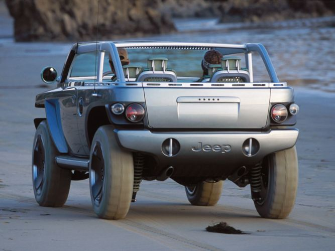 2001 Jeep Willys Concept wallpaper