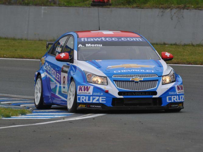 2011 Chevrolet Cruze WTCC race racing tv wallpaper