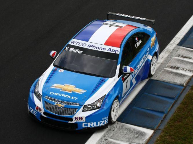 2011 Chevrolet Cruze WTCC race racing wallpaper