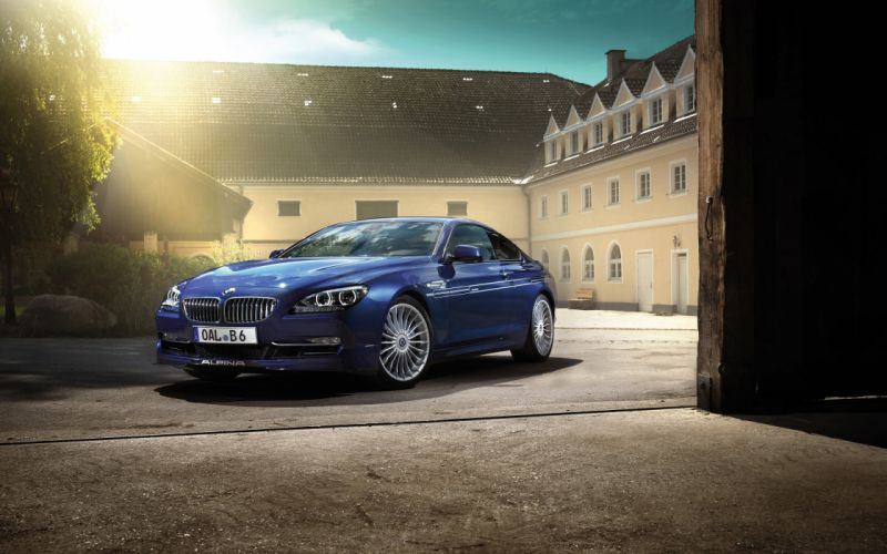 2013 BMW Alpina B6 Biturbo b-6 h wallpaper