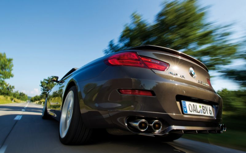 2013 BMW Alpina B6 Biturbo b-6 wheel h wallpaper