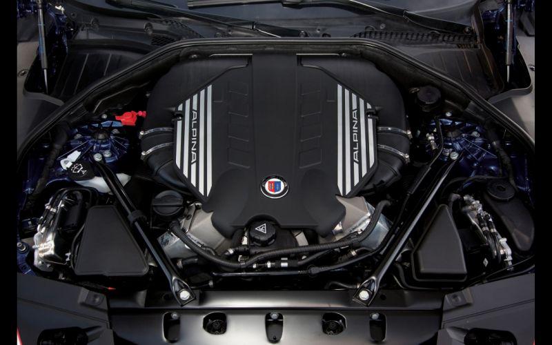 2013 BMW Alpina B7 Biturbo b-7 engine f wallpaper