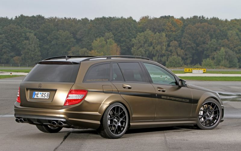 2013 FolienCenter-NRW Mercedes Benz C63 AMG stationwagon tuning n wallpaper